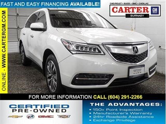 2014 ACURA MDX Nav Pkg in Burnaby, British Columbia