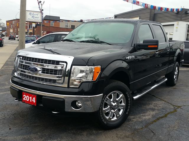 2014 Ford F-150 XLT 4x4,CREW-CAB,5.0 LTR,CROME WHEELS & STEP BARS,REMOTE START,BACK-UP SENSORS in Dunnville, Ontario