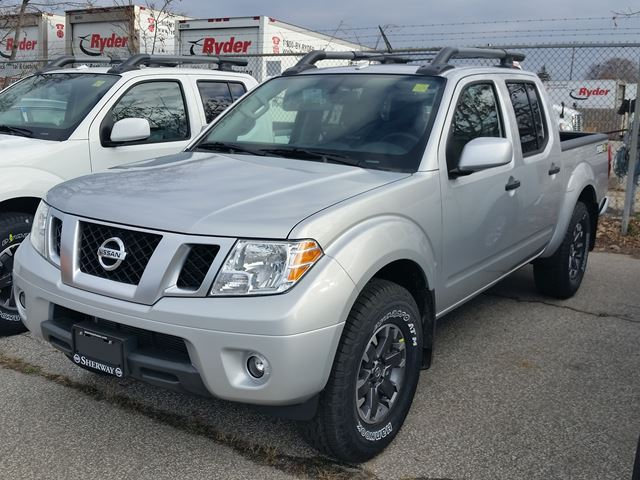 Nissan Frontier Pro 4X >> 2018 Nissan Frontier PRO-4X Silver for 41257 in Toronto | Mississauga.com