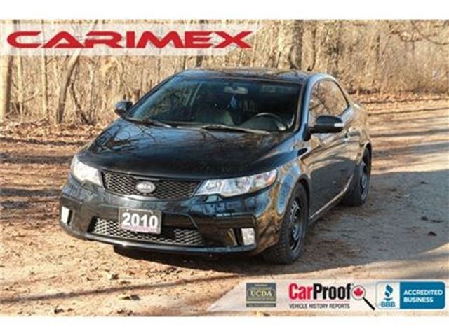 2010 KIA FORTE Koup 2.4L SX Leather   Sunroof   Heated Seats in Kitchener, Ontario