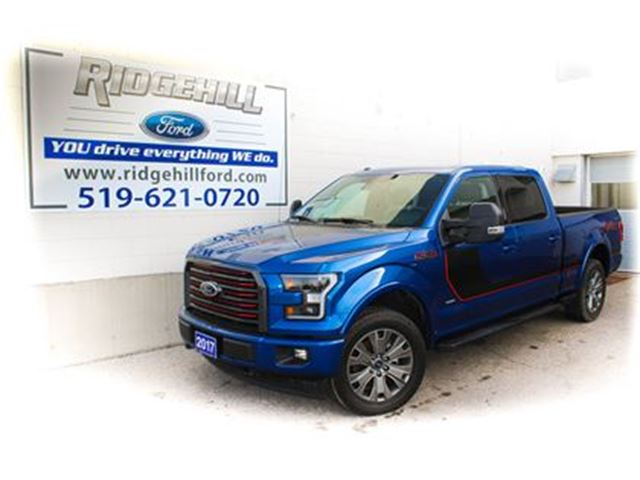 2017 FORD F-150 LARIAT SPECIAL EDITION  NAV  PANO ROOF  LEATHER in Cambridge, Ontario