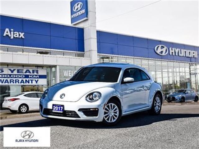 2017 VOLKSWAGEN NEW BEETLE  1.8 TSI Apple CarPlay Android Auto Bluetooth in Ajax, Ontario