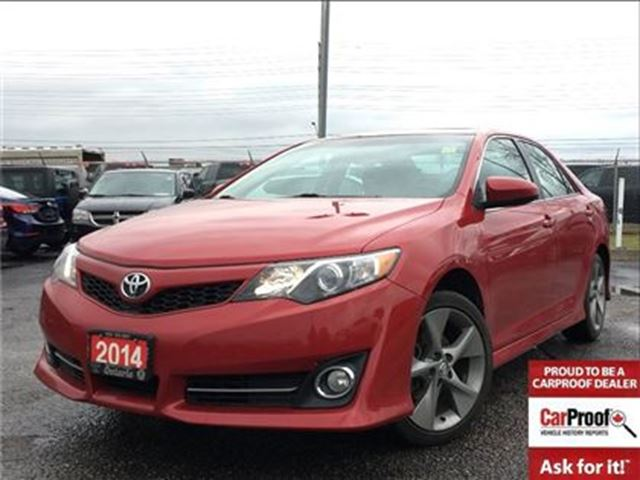 2014 TOYOTA CAMRY NAVIGATION**BACK UP CAM**SUNROOF**BLUETOOTH** in Mississauga, Ontario