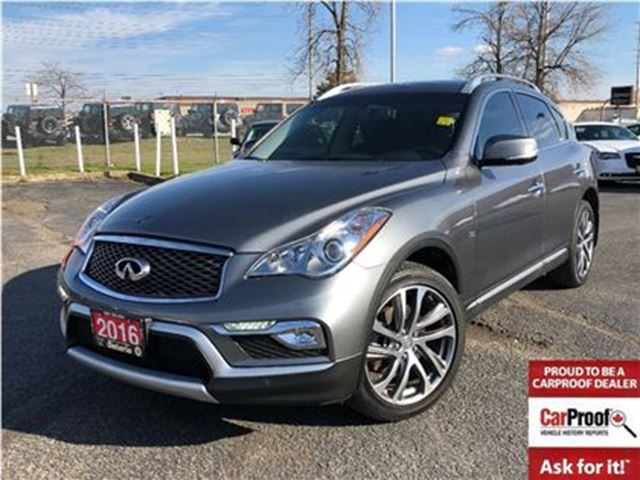 2016 INFINITI QX50 LEATHER**NAVIGATION**BACK UP CAMERA**BLUETOOTH** in Mississauga, Ontario