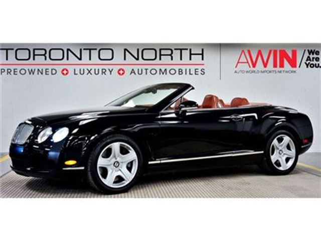 2007 BENTLEY CONTINENTAL NO ACCIDENT in North York, Ontario
