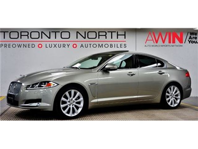 2013 JAGUAR XF 3.0L AWD PORTFOLIO NO ACCIDENT in North York, Ontario