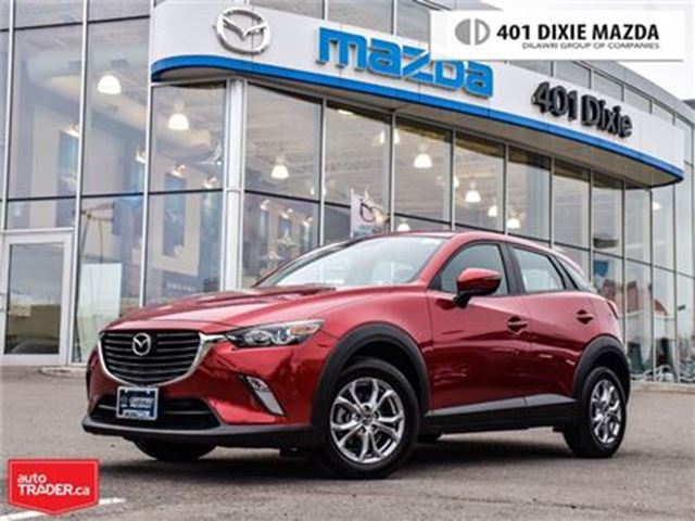 2017 MAZDA CX-3 GS,MAZDA CANADA DEMO,LOW FINANCE RATES in Mississauga, Ontario