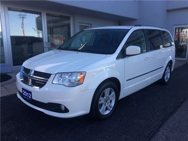 2012 Dodge Grand Caravan Crew ONE OWNER in Simcoe, Ontario