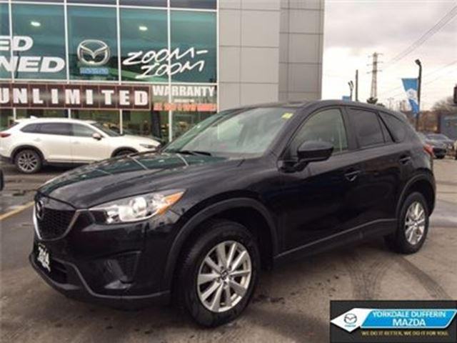 2014 MAZDA CX-5 GX / LEATHER / BLUETOOTH / 6 SPEED MANUAL!!! in Toronto, Ontario