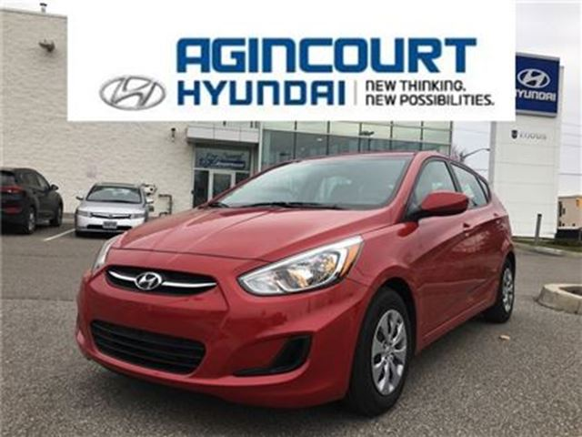 2017 HYUNDAI ACCENT LE/REMOTE START/BLUETOOTH/ONLY 3907KMS in Toronto, Ontario