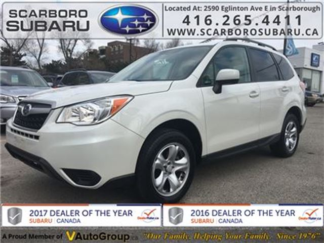 2016 Subaru Forester 2.5i, FROM 1.9% FINANCING AVAILABLE in Scarborough, Ontario