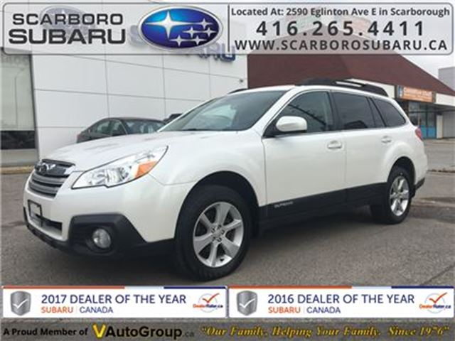 2013 Subaru Outback 2.5i Conv. PKG, FROM 1.9% FINANCING AVAILABLE in Scarborough, Ontario