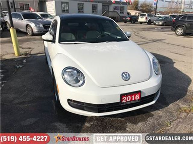 2016 VOLKSWAGEN NEW BEETLE  Classic   NAV   ROOF   CAM   HEATED SEATS in London, Ontario