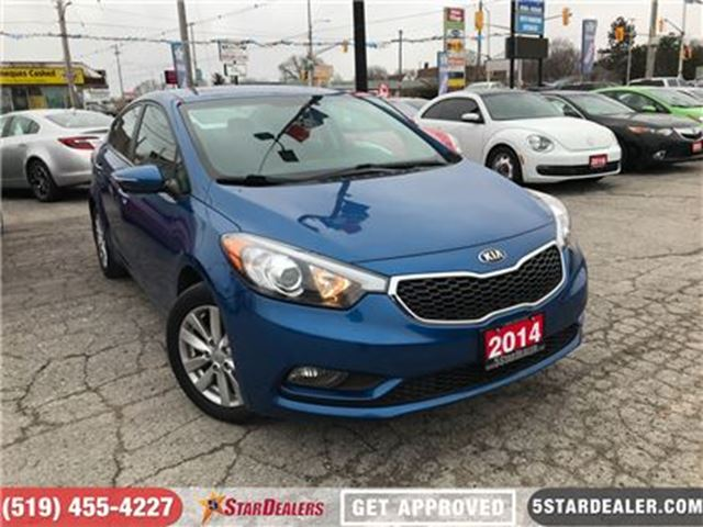 2014 KIA FORTE 1.8L LX+   ROOF in London, Ontario