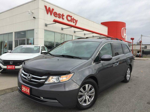 2014 HONDA ODYSSEY EX-L,GPS,LEATHER,POWER LIFTGATE! in Belleville, Ontario