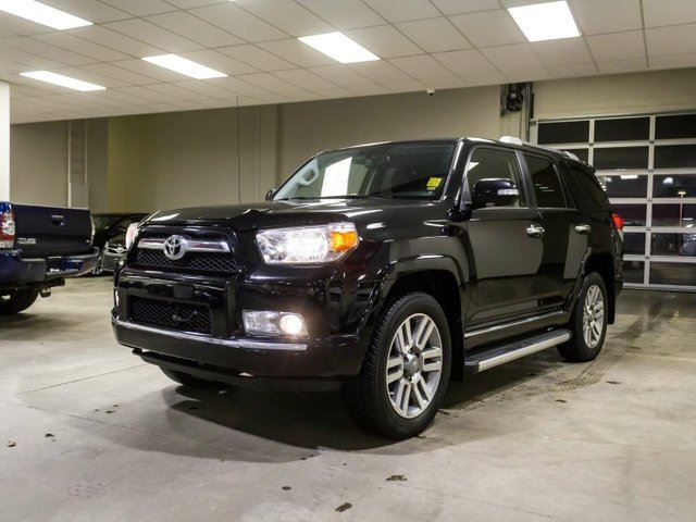 2012 TOYOTA 4Runner LIMITED, REMOTE STARTER, NAVIGATION, LEATHER, HEATED & COOLED SEATS, TOUCH SCREEN, BACK UP CAMERA, PUSH BUTTON START, ALLOY RIMS, BLUETOOTH, V6, 4X4 in Edmonton, Alberta