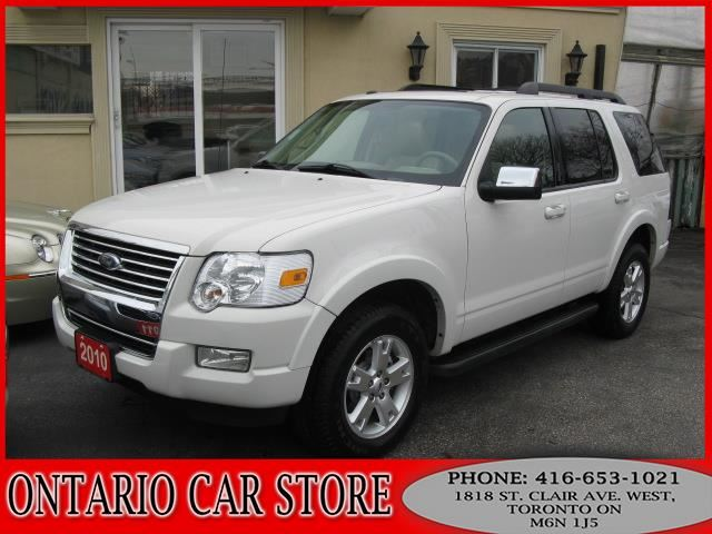 2010 FORD EXPLORER XLT V8 4WD LEATHER SUNROOF in Toronto, Ontario