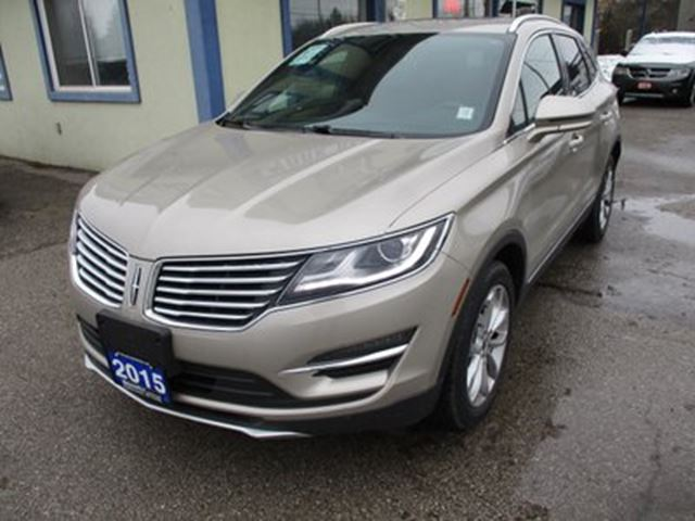 2015 LINCOLN MKC LOADED ALL-WHEEL DRIVE 5 PASSENGER 2.0L - DOHC. in Bradford, Ontario