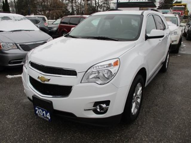 2014 CHEVROLET Equinox LOADED 2-LT EDITION 5 PASSENGER 2.4L - ECO-TEC. in Bradford, Ontario