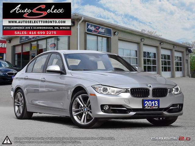 2013 BMW 3 Series 328 i xDrive AWD ONLY 85K! **TECHNOLOGY PKG** SPORT PKG in Scarborough, Ontario