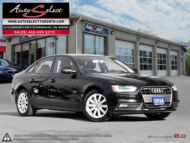 2014 Audi A4 ONLY 105K! **LED LIGHTING PKG** CLEAN CARPROOF in Scarborough, Ontario