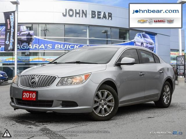 2010 BUICK LACROSSE CX in St Catharines, Ontario