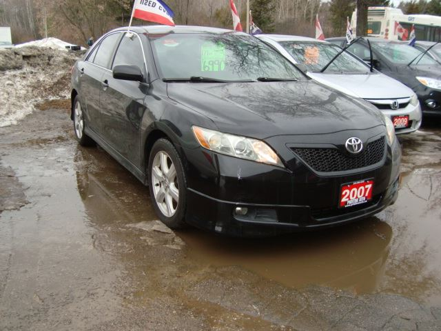 2007 TOYOTA CAMRY SE Accident Free Leather & Sunroof in Cambridge, Ontario