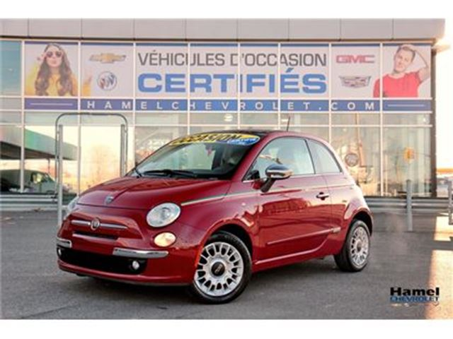 2012 FIAT 500 Lounge in Montreal, Quebec