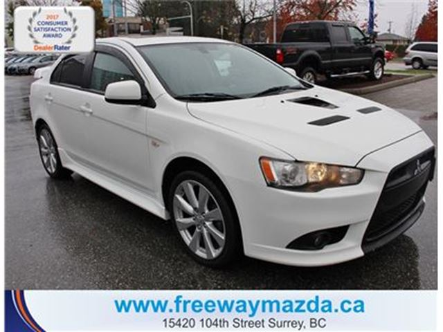 2013 MITSUBISHI LANCER Ralliart Turbo AWD-SUNROOF/HEATSEAT in Surrey, British Columbia