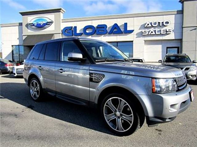 2012 LAND ROVER RANGE ROVER Sport HSE NAVIGATION LEATHER SUNROOF in Ottawa, Ontario