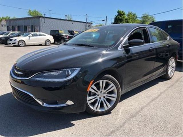 2016 CHRYSLER 200 Limited NAVIGATION HEATED FRONT SEATS in St Catharines, Ontario