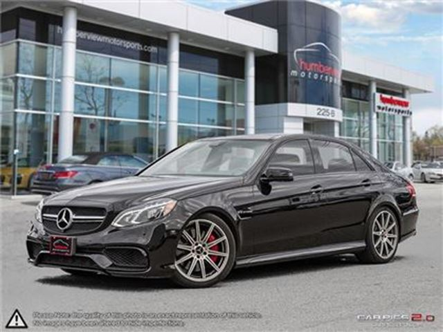 2014 MERCEDES-BENZ E-Class E63 AMG S-Model 4MATIC in Mississauga, Ontario