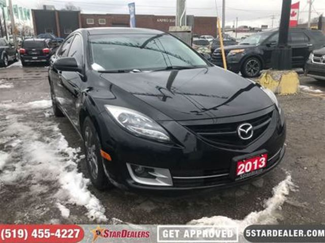 2013 MAZDA MAZDA6 GT   LEATHER   ROOF   HEATED SEATS in London, Ontario