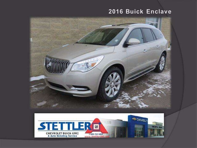 2016 Buick Enclave Premium All-wheel Drive in Stettler, Alberta