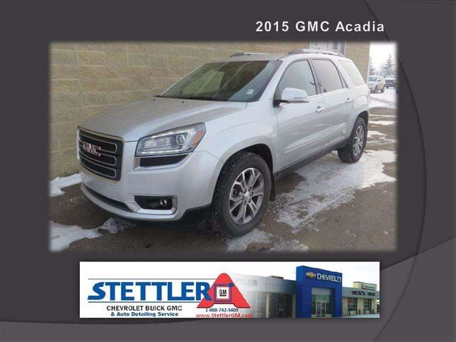 2015 GMC Acadia SLT2 All-wheel Drive in Stettler, Alberta