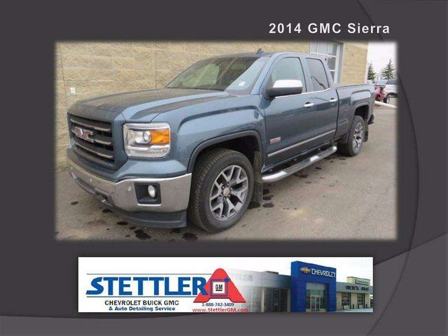 2014 GMC Sierra 1500 SLT 4x4 Double 6.6 ft. box 143.5 in. WB in Stettler, Alberta