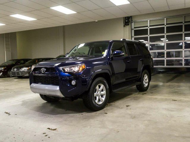 2015 TOYOTA 4Runner TRAIL EDITION, NAVIGATION, LEATHER, HEATED SEATS, SUNROOF, TOUCH SCREEN, BACK UP CAMERA, ALLOY RIMS, BLUETOOTH, V6, 4X4 in Edmonton, Alberta