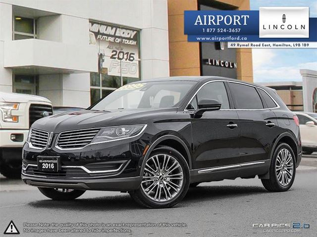 2016 Lincoln MKX AWD 4dr Reserve in Hamilton, Ontario