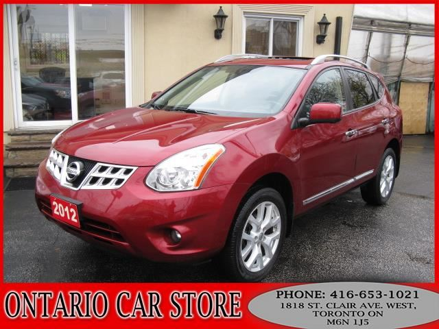 2012 Nissan Rogue SL AWD NAVIGATION LEATHER SUNROOF in Toronto, Ontario