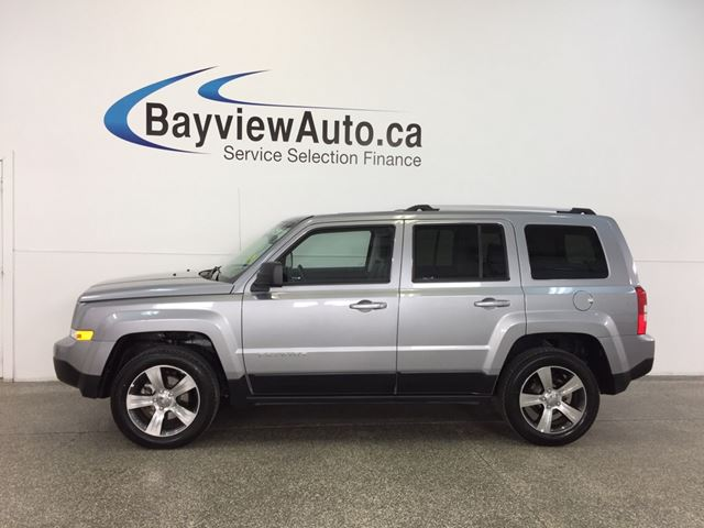 2017 JEEP PATRIOT HIGH ALTITUDE- 4x4|ROOF|HTD LTHR|UCONNECT|CRUISE! in Belleville, Ontario