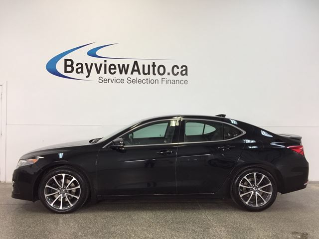 2015 ACURA TLX Elite - REM START|SUNROOF|HTD/AC LTHR|ADAPTIVE CRUISE|NAV! in Belleville, Ontario