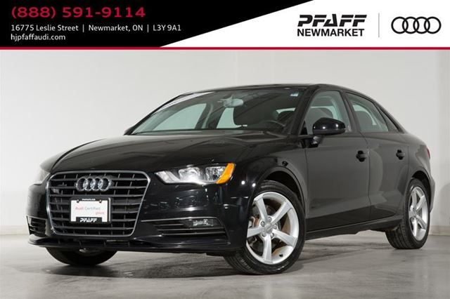 2015 AUDI A3 2.0T Komfort in Newmarket, Ontario