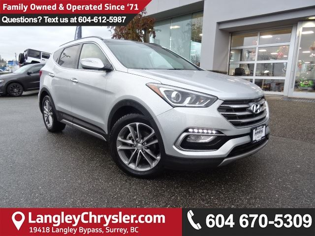 2017 HYUNDAI SANTA FE 2.0T Limited in Surrey, British Columbia