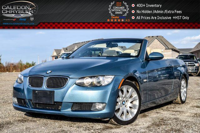 2008 BMW 3 Series 328i Pwr Hard Top Heated Front Seats Keyless Entry Pwr Windows 17Alloy Rims in Bolton, Ontario