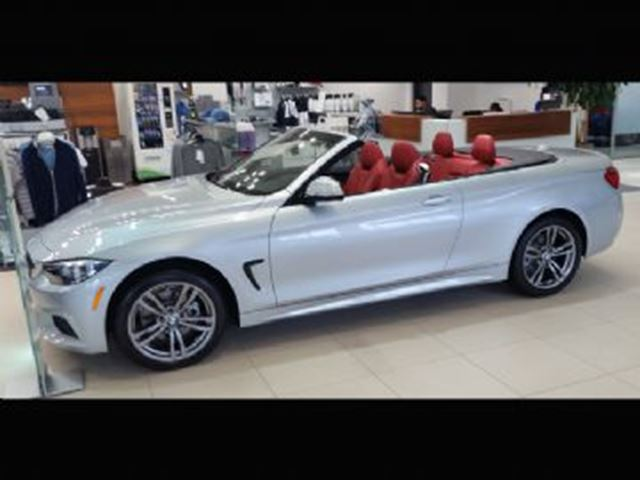 2018 BMW 4 SERIES 430i xDrive Cabriolet w/Premium Package Essential in Mississauga, Ontario