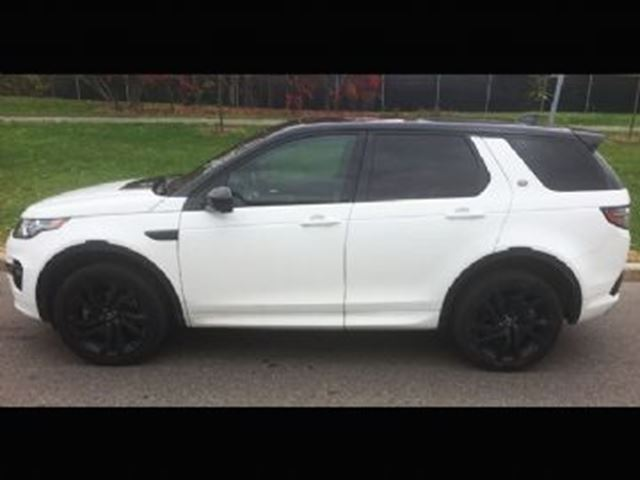 2017 LAND ROVER Discovery HSE SPORT LUXURY in Mississauga, Ontario