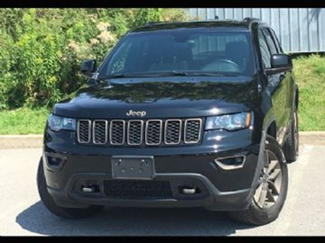 2017 JEEP GRAND CHEROKEE 4WD 4dr Laredo 75th Anniversary *Ltd Avail* in Mississauga, Ontario