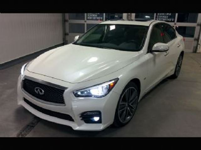 2016 INFINITI Q50 S (Sport) V6 AWD, 300HP, Excess Wear Protection in Mississauga, Ontario