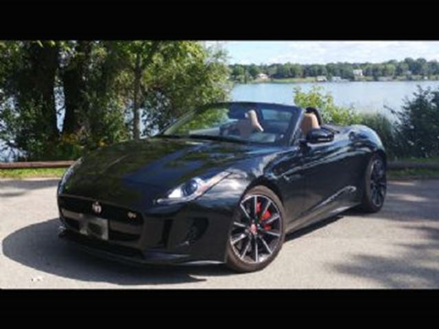 2016 JAGUAR F-TYPE 2dr S V6 RWD ~ 6-speed Manual in Mississauga, Ontario