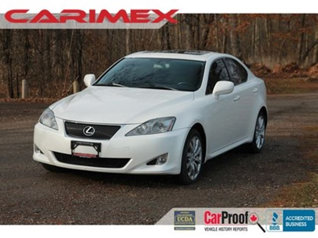 2006 LEXUS IS 250 AWD    Leather   Sunroof    CERTIFIED in Kitchener, Ontario